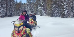 Snowmobile Guided Tour Grand Mesa